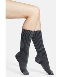 Ralph Lauren Distressed Crew Socks - Lyst