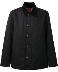 Obey Contrast Collar Jacket - Lyst