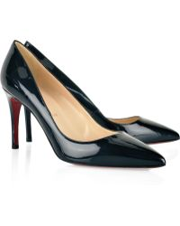 Christian Louboutin Pigalle 85 Patent-leather Pumps - Lyst