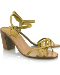 Vanessa Bruno Athé - Studded Leather Sandals - Lyst