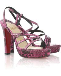 Christian Louboutin Miss Dina 120 Sandals - Lyst