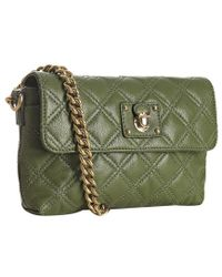 Marc Jacobs - Olive Quilted Leather The Single Flap Shoulder Bag - Lyst