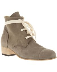 Beau Coops - Suede Ankle Boot - Lyst