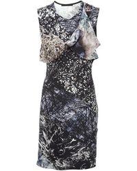 Aminaka Wilmont - Rock Print Twist Dress - Lyst