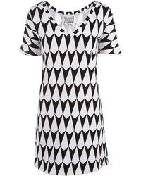 Beyond The Valley - Arrow Print Dress - Lyst