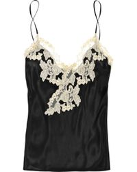 La Perla Maison Silk-blend Camisole - Lyst