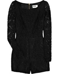 Alice By Temperley Lace Playsuit - Lyst