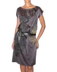 Just In Case - Stretch Silk Satin Dress - Lyst