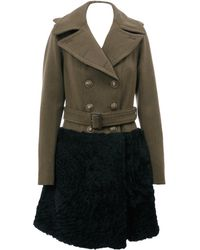 Burberry Prorsum Trench - Lyst