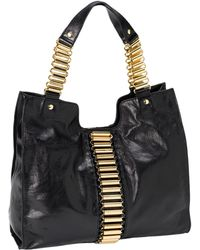 Ted Baker Tube Chain Leather Shopper - Lyst
