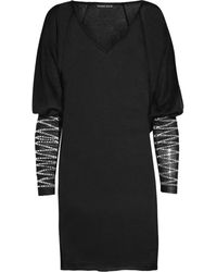 Thomas Wylde Survive Crystal-embellished Tunic - Lyst
