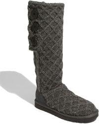 Ugg Wool Lattice Cardy Boots - Lyst