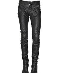 Gareth Pugh - Nappa Leggings Trousers - Lyst