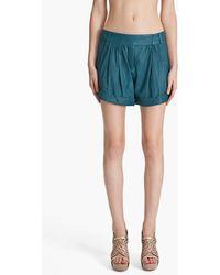 Diane von Furstenberg Dax Shorts - Lyst