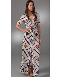 Diane von Furstenberg Azurah Cover Up Dress - Lyst