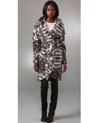 Mara Hoffman - Shawl Coat with Zip Cuffs - Lyst