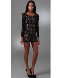 Alice By Temperley - Lace Playsuit - Lyst