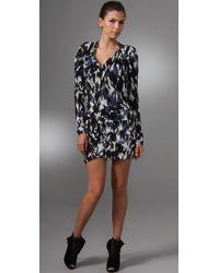 L.A.M.B. - Printed Tunic Dress - Lyst