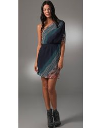 Twelfth Street Cynthia Vincent - One Shoulder Ombre Dress - Lyst