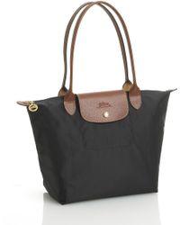 Longchamp 'Small Le Pliage' Shoulder Bag black - Lyst