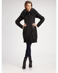 Creenstone - Double-breasted Puffer Coat - Lyst