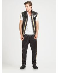 Dolce & Gabbana Reversible Vest - Lyst