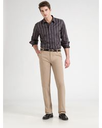 Saks Fifth Avenue Casual Pants - Lyst