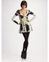 Seneca Rising - Printed Tunic Dress - Lyst