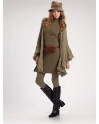Ralph Lauren Blue Label - Wool/cashmere Sweater Leggings - Lyst