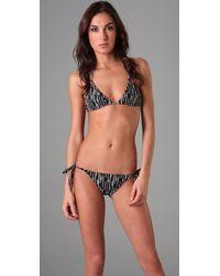 Parker Beach - Triangle Bikini Top - Lyst