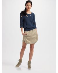 See By Chloé Hole Pullover - Lyst