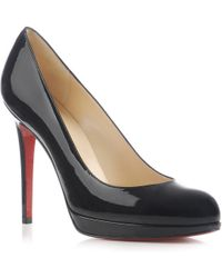 Christian Louboutin New Simple Platform Pumps - Lyst