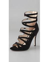 Boutique 9 - Juvela Suede High Heel Sandals - Lyst