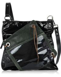 Pauric Sweeney - Brasilia Patent-leather Shoulder Bag - Lyst