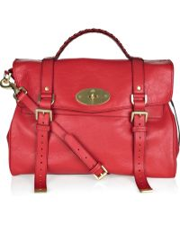 Mulberry Oversized Alexa Leather Bag - Lyst