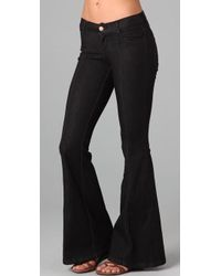 Pray For Mother Nature | Devils Post Pile Flare Jeans | Lyst