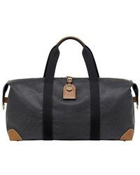 Mulberry Henry Leather-Trimmed Nylon Wheeled Suitcase - Lyst