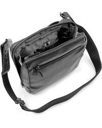 Jost Medium Cargo Shoulder Bag - Black