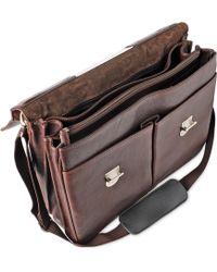 Leonhard Heyden - Large Three Compartment Briefcase - Lyst