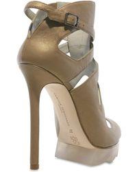 Camilla Skovgaard 120mm Calfskin Cut Out Sandals - Lyst