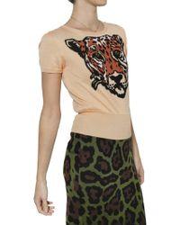 JC de Castelbajac | Tiger Intarsia Knit Sweater | Lyst