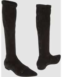 Aldo Brue' - Flat Knee Boots - Lyst