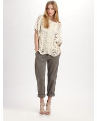 Textile Elizabeth and James Pullover Sweater Top - Lyst