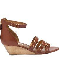 Twelfth Street Cynthia Vincent - Mini-wedge Sandals - Lyst