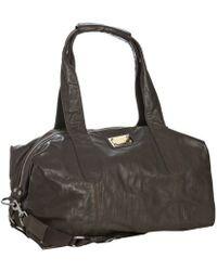 Dolce & Gabbana - Brown Leather Duffel Bag - Lyst