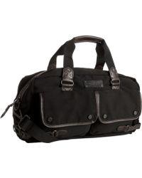 Marc New York - Black Woven Patch Pocket Gym Duffel Bag - Lyst