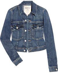 Textile Elizabeth and James Sid Denim Jacket - Lyst