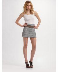 Pleasure Doing Business Raff Skirt - Lyst