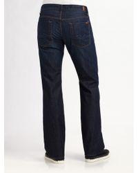 7 For All Mankind Austyn Beckville Straight-leg Jeans - Lyst