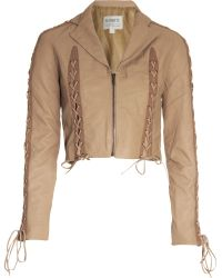 Rodarte x Opening Ceremony Lace-up Jacket - Lyst